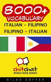 8000+ Italian - Filipino Filipino - Italian Vocabulary