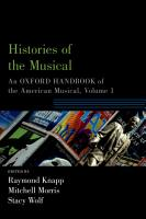 Histories of the Musical PDF