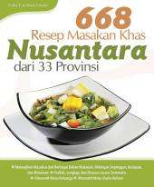 668 Resep Masakan Khas Nusantara dari 33 Provinsi