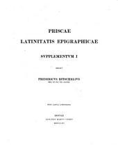 Priscae Latinitatis monumenta epigraphica