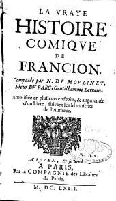 La vraye histoire comique de Francion