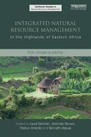 Integrated Natural Resource Management in the Highlands of Eastern Africa PDF