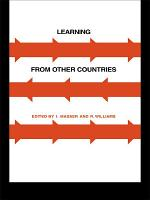 Learning from Other Countries  The Cross National Dimension in Urban Policy Making PDF