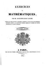 Exercices de mathématiques: Volume2