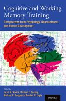 Cognitive and Working Memory Training PDF