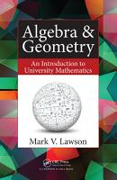 Algebra   Geometry PDF