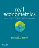 Real Econometrics PDF