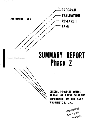 PERT Program Evaluation Research Task Summary Report, Phase 2