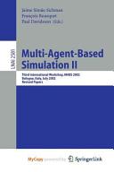 Multi-Agent-Based Simulation II