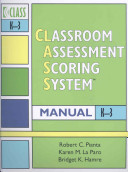 Classroom Assessment Scoring System  CLASS  Manual PDF