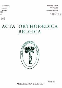 Acta orthopaedica belgica PDF
