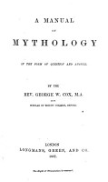 A Manual of Mythology in the Form of Question and Answer PDF