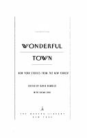 Wonderful Town PDF