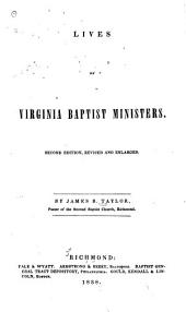 Lives of Virginia Baptist Ministers