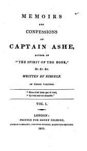 Memoirs and confessions of captain Ashe