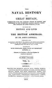 Naval history of Great Britain: including the history and lives of the British admirals, Volume 2