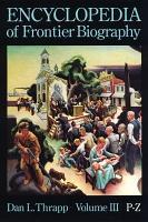 Encyclopedia of Frontier Biography  P Z PDF