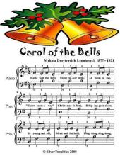 Carol of the Bells - Easy Piano Sheet Music - Junior Edition
