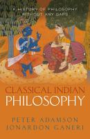Classical Indian Philosophy PDF
