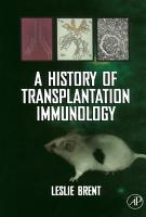 A History of Transplantation Immunology PDF