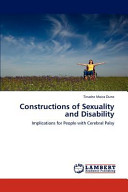Constructions of Sexuality and Disability PDF