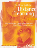 The Oryx Guide to Distance Learning PDF
