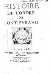 Histoire de l'ordre Font-Evraud