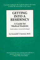 Getting Into a Residency