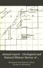Annual Report - Geological and Natural History Survey of Minnesota: Volume 21