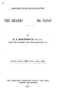 The Brahmanas of the Vedas