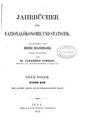JAHRBUCHER FUR NATIONALOKONOMIE UND STATISTIK