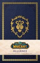 World of Warcraft  Alliance Hardcover Ruled Journal
