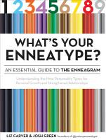 What s Your Enneatype  An Essential Guide to the Enneagram PDF