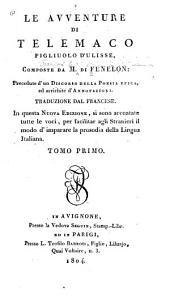 Le avventure di Telemaco, figliuolo d'Ulisse: Volume 1