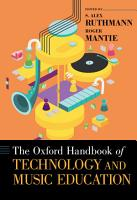 The Oxford Handbook of Technology and Music Education PDF