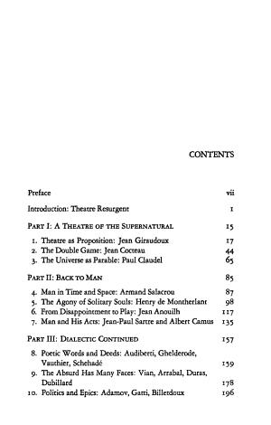 Modern French Theatre PDF