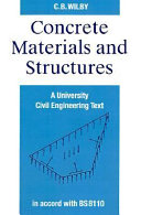 Concrete Materials and Structures