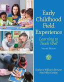 Early Childhood Field Experience PDF