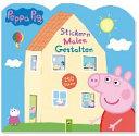 Peppa Pig Stickern Malen Gestalten PDF