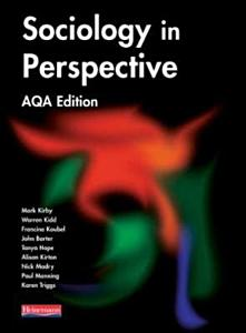 Sociology in Perspective PDF