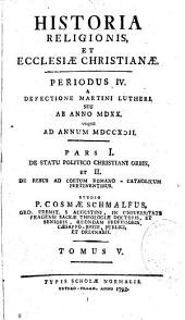 Historia religionis et ecclesiae christianae