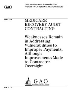 Medicare Recovery Audit Contracting PDF