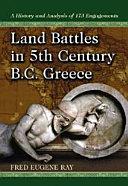 Land Battles in 5th Century BC Greece