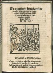 De quattuor heresiarchis ordinis Praedicatorum de observantia nuncupatorum apud Swicinses in civitate Bernensi combustis A. C. 1509