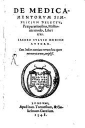 De medicamentorum simplicium delectu libri III