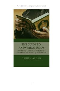 THE GUIDE TO ANSWERING ISLAM Book