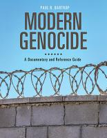 Modern Genocide  A Documentary and Reference Guide PDF