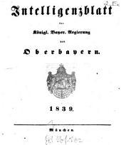Intelligenzblatt der Königlich Bayerischen Regierung von Oberbayern