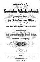 Handels  und Gewerbs Schematismus von Wien und dessen n  chster Umgebung PDF