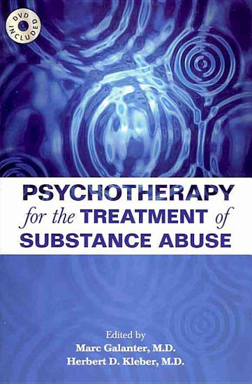 Psychotherapy for the Treatment of Substance Abuse PDF